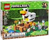 LEGO Minecraft The Chicken Coop 21140 - Kit de construcción (198 Piezas)