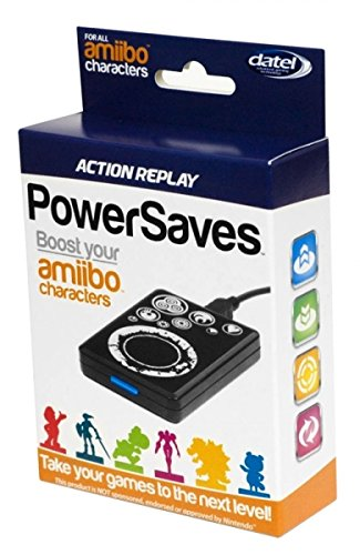 Action replay Amiibo powersaves pour Nintendo Wii U
