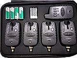 MK-Angelsport Funk Bissanzeiger Set 4+1 Multi Carbon 1:1 Übertragung