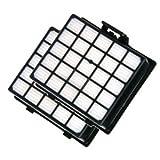 Variant - 2 Confezioni di filtri per aspirapolvere HEPA compatibili con Bosch e Siemens VZ153HFB-VSZ31455