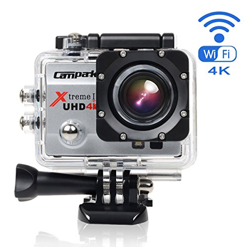 Campark® act74 4k Wifi Ultra HD Camera Action Cam Sports...