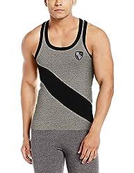 Force GoWear Mens Cotton Vest (8902889509860_MFCF-020_Medium_Grey Melange)