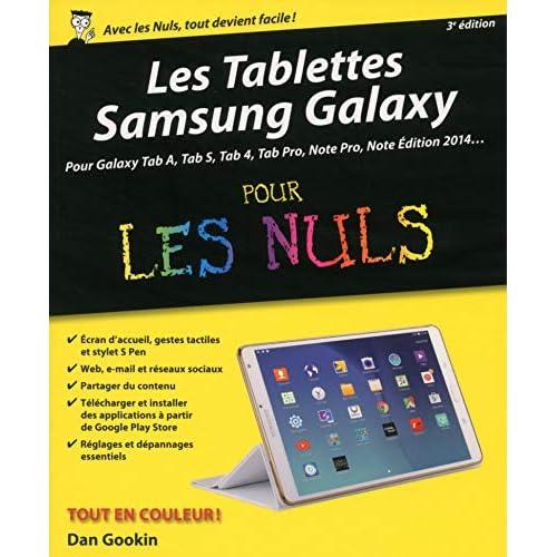 Les Tablettes Samsung Galaxy pour les Nuls, 3e édition