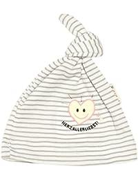 Adelheid Baby - Mädchen Mütze Herzallerliebst Bio Babymütze Knoten Albglück