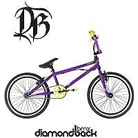 "Diamondback Option 20 inch Wheel Childrens BMX Bike In Purple - 10"" Frame NEW 2017 Model"