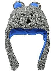 Columbia Toddler Tiny Bear Hat - Gorro para niño, color gris, talla O/S