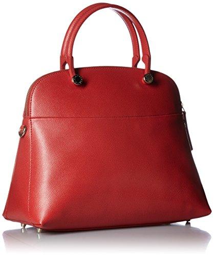 Furla Piper Medium Dome, Sacs bandoulière Femme Rouge - Carminio