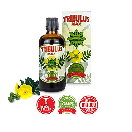 f706f01bd435a Tribulus Terrestris 100 ml liquid serum extract | Bulgarian tribulus max |  Enhance performance | Increase muscle mass | Higher energy and stamina | ...