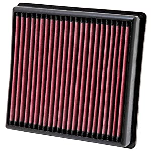 K&N Filters 33-2972 Washable and Reusable Car Replacement Air Filter