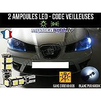 Pack de lámpara LED de color blanco Xenón para Seat ...