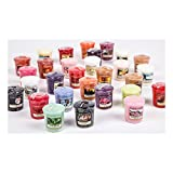 yankee candle Set di 5 candele profumate e colorate
