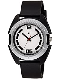 Fastrack Casual Analog White Dial Men's Watch -NK3116PP02