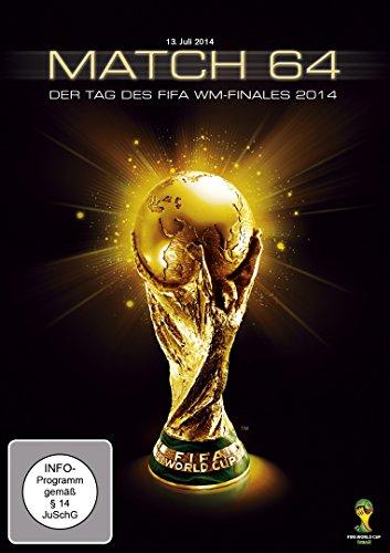 Match 64: Der Tag des WM-Finales 2014 [DVD]