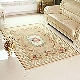 Verschleißfesten Bereichswolldecke,Europäischen teppich Oriental design Teppich rechteck footcloth einfache verdicken moderne jacquard unregelmäßige design für wohnzimmer bett-E 31*47inch(80*120cm)