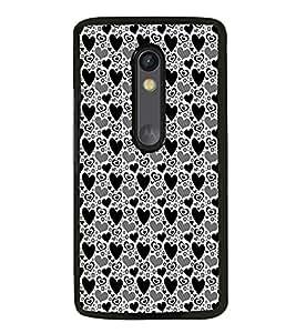 ifasho Designer Phone Back Case Cover Motorola Moto G3 :: Motorola Moto G (3rd Gen) :: Motorola Moto G3 Dual SIM ( Deer Face Cute look )