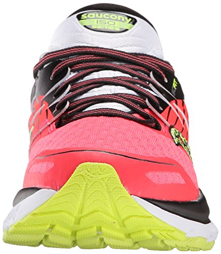 Saucony Triumph Iso 2, Chaussures de Running Compétition Femme Rose (Coral/Silver)