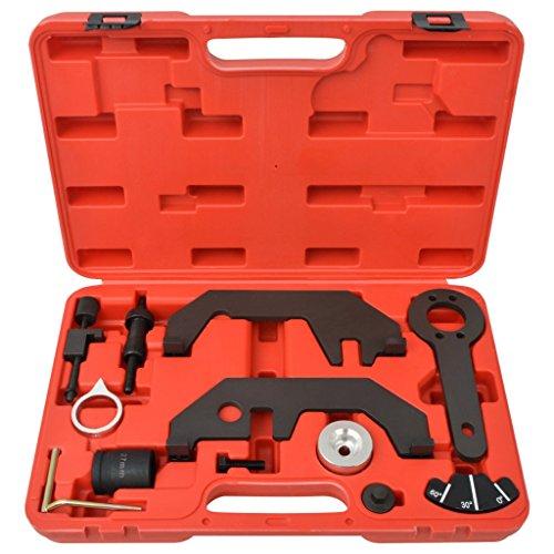 Festnight Kit d'outils de calage pour arbre à cames/ vilebrequin 12 pcs pas cher