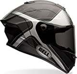 BELL Casco RACE STAR TRACER BLACK MATT/GREY L