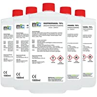 5x 1 Liter Medicalcorner24® Isopropanol 70% Isopropylalkohol 2-Propanol Alkohol Schimmelentferner preisvergleich bei billige-tabletten.eu