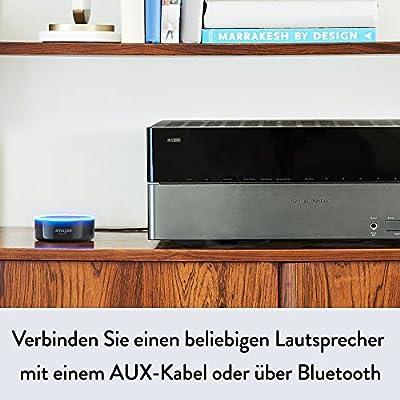 Amazon Echo Dot (2. Generation), Weiß inkl. Philips Hue White Ambiance E27 LED Lampe Starter Set