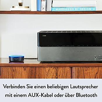 Amazon Echo Dot (2. Generation) Intelligenter Lautsprecher Mit Alexa, Schwarz 3