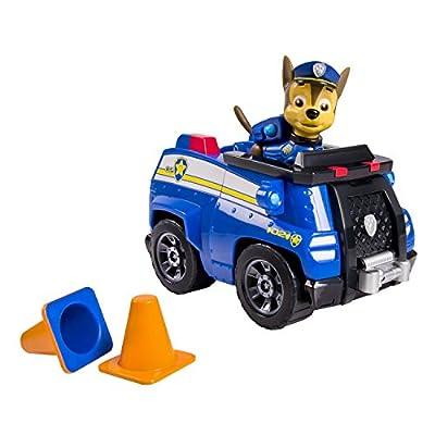 Paw Patrol - Chase y su Camión Policía - Vehículo y Figura La Patrulla Canina de Spin Master