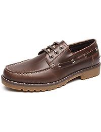 3fe31bfd1cc7d Zapatos Nauticos Barco Marrones para Hombres - Mocasines Cómodos Hombre