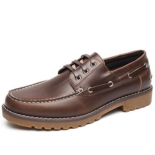 Zapatos Nauticos Barco Marrones para Hombres -