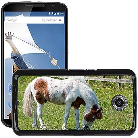 Just Cover Hot Style-Custodia rigida per cellulare, motivo: cavallo/Pony M00140281 pascolo Pretty Equine/6/LG Google Nexus