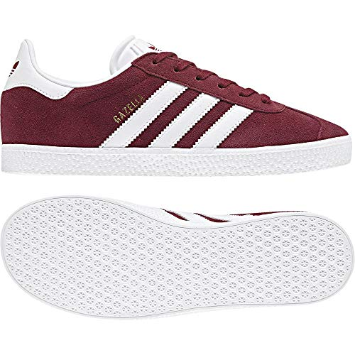 lowest price 24597 0fb45 Adidas Gazelle, Unisex Kids Low-Top Sneakers , Red (Buruni  Ftwbla