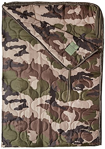Poncho Liner Travel Sleeping Bag Quilted Padded Mat