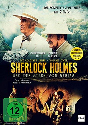 Sherlock Holmes - Die goldenen Jahre, Vol. 2: Sherlock Holmes und der Stern von Afrika (Incident at Victoria Falls) / 2-Teiler mit Christopher Lee und Patrick Macnee [2 DVDs]