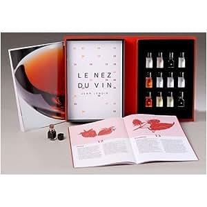 Le Nez du Vin - Set 12 Aromi Vino ROSSO - Kit Base Sommelier Allena Olfatto - Jean Lenoir -