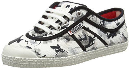 Kawasaki Unisex - Adulto, Scarpa Tecnica, Basic Miriana, Bianco (With Sign), 38