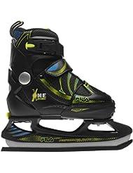 Fila Niños X One Ice Skates Júniors Zapatos Zapatillas Calzado Casual Negro / Amarillo 1-3
