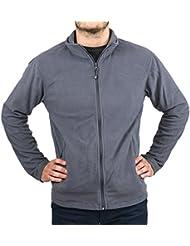 Veste micropolaire zippée grise GRIS S