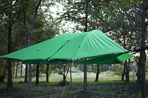Jungle Tent Hammock ... & Jungle Tent Hammock with Mosquito Net UMsky Connect 3-Person 4 ...