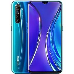"""Realme X2 - Smartphone de 6.4"""" (Snapdragon 730G, RAM de 8 GB, Memoria Interna de 128 GB, cámara de 64 MP, ColorOS 6), color Azul [Versión española]"""