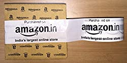 Amazon.in Branded Tape (Pack of 3) - White