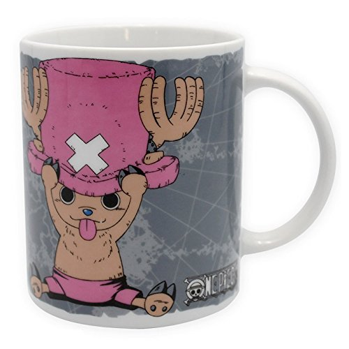 Abystyle One Piece Chopper & Emblem Tazza, Multicolore, 12 x 12 x 0.380 cm