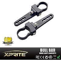 Xprite alluminio 1,25pollici Bull Bar regolabile Griglia Griglia Protezione Top porta rotolo gabbia tubo morsetto di montaggio supporto per LED lavoro luce bar