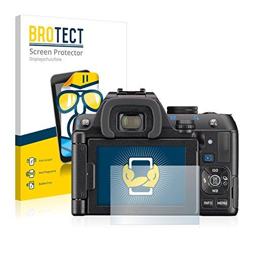 brotect 2-Pièces Protection Ecran Compatible avec Pentax K-S2 - Film Protection Ultra Clair