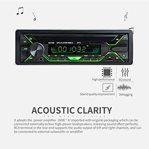 Radio de voiture stéréo vidéo fm radio, 7003 Universal DC 12V 4 x 60W Car MP3 player Avec AUX-IN SD USB MP3 MMC WMA ISO Standard Interface autoradio