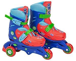 PJ Masks- Patines en línea de Aprendizaje Tri-Skate, 31-34 (Amijoc Toys 2943)