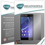 4 x Slabo Displayschutzfolie Sony Xperia Z2 Displayschutz Schutzfolie Folie