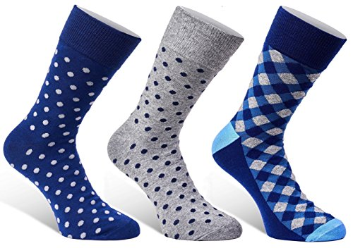 3-pack-set-mens-dress-socks-colorful-funky-patterns-textured-diamonds-and-polka-dot-in-gift-box