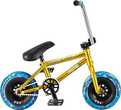 Rocker Reggie Prospector Mini BMX Bike (Gold)