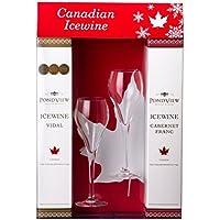 Icewine Package mit Gläser Pondview Winery