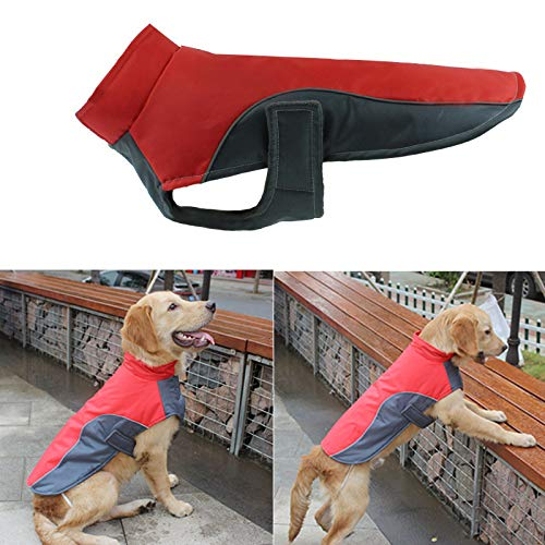 Dovlen Dog Waterproof Winter Warm Rain Coat Vest Reflective Coat Sport Vest Pet Clothes New -
