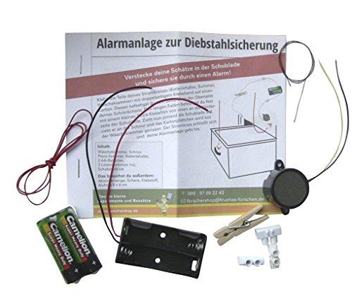 Elektro-Bausatz - Alarmanlage zur Diebstahlsicherung